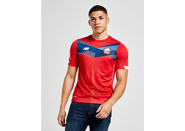New Balance Lille 2020/21 Home Shirt, Red