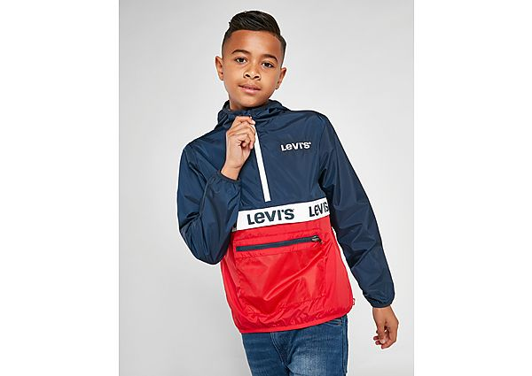 Levis 1/2 Zip Windjack Junior - Navy/Red - Kind