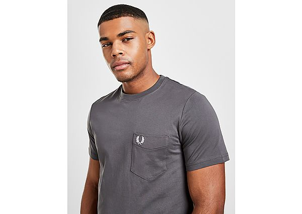 Fred Perry camiseta Core Pocket, Grey