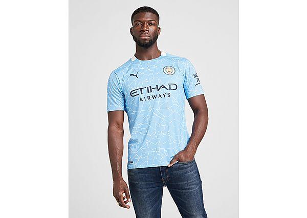 Puma camiseta Manchester City FC 2020/21 1.ª equipación Authentic, Blue