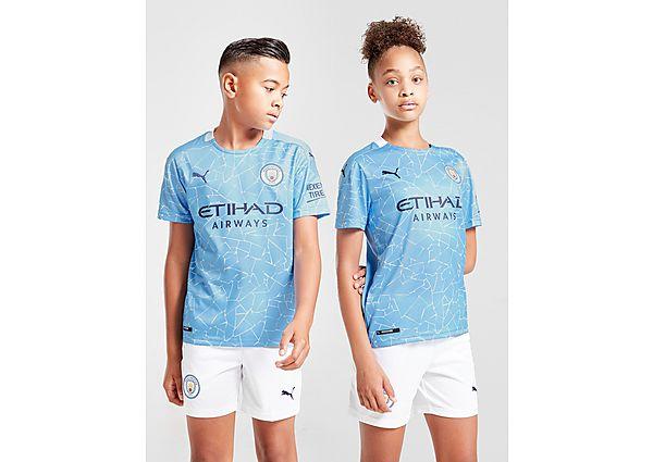 Puma camiseta Manchester City FC 2020/21 1.ª equipación júnior, Blue