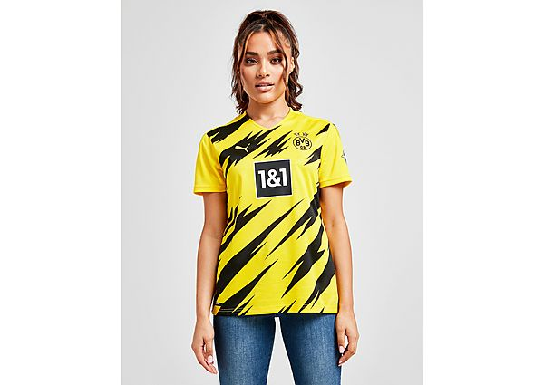 PUMA Borussia Dortmund 2020/21 Home Shirt Dames - Yellow/Black - Dames, Yellow/Black