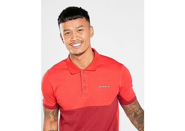 McKenzie Jaques Polo T-Shirt Heren - alleen bij JD - Red