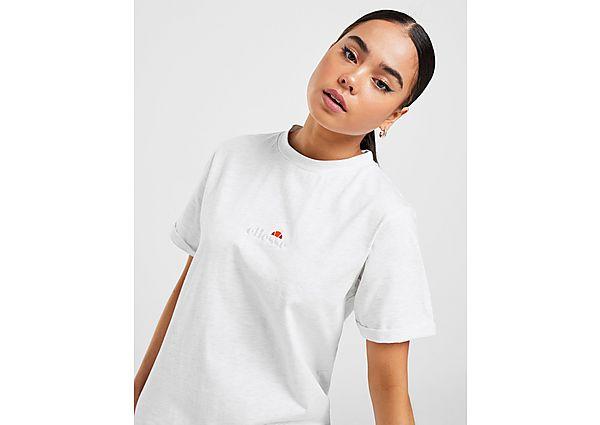 Ropa deportiva Mujer Ellesse camiseta Core Logo Boyfriend, Grey