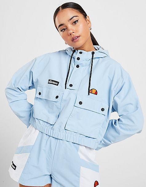 veste crop 1/4 zippž woven femme