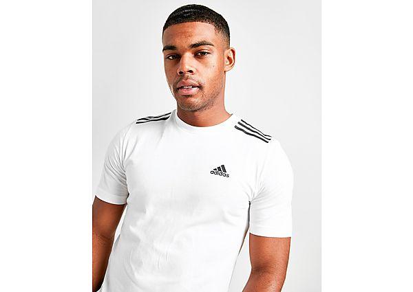 adidas camiseta Badge of Sport 3-Stripes, White
