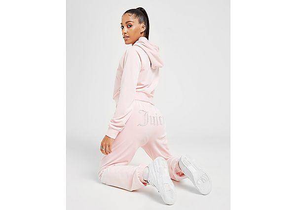 Ropa deportiva Mujer JUICY COUTURE pantalón de chándal Diamante Velour, Pink