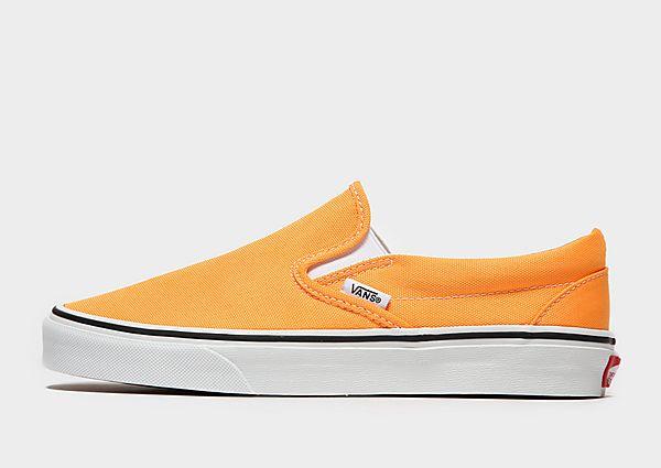 Vans Slip-On Dames - Orange, Orange