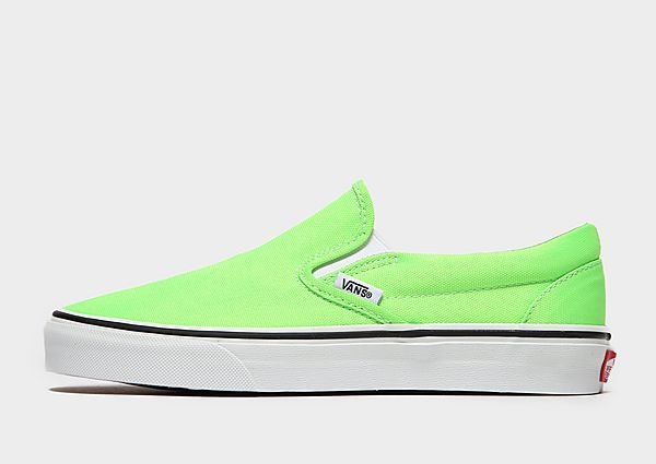 Vans Slip-On Dames - Green, Green