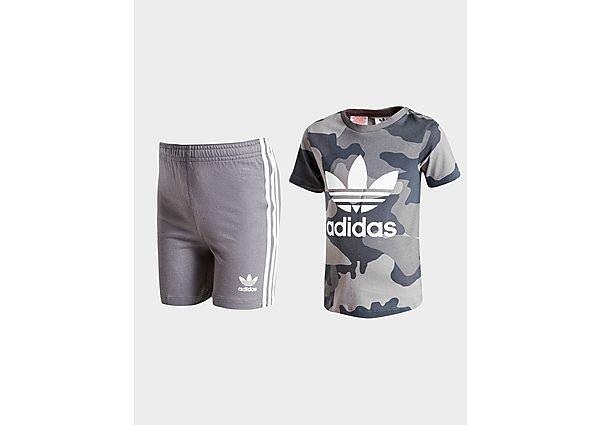 Adidas Originals Trefoil Camo T-shirt / short set voor baby's - Kind