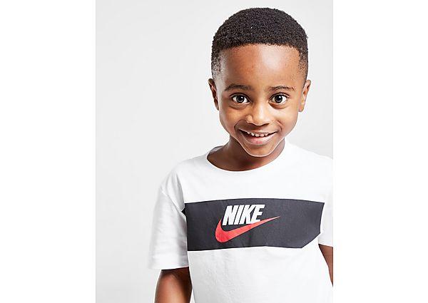 Comprar Ropa deportiva para niños online Nike camiseta Panel para bebéil, White