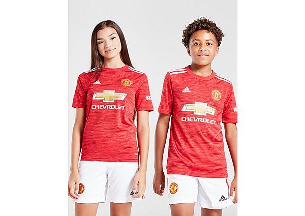 adidas camiseta Manchester United FC 2020/21 1.ª equipación júnior (RESERVA), Red/Black