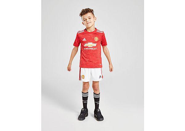 adidas Manchester United FC 2020/21 Home Kit Kinderen - Kind