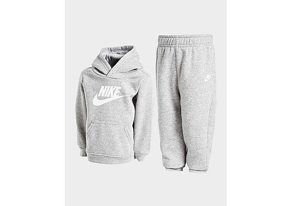Nike Overhead Trainingspak Baby's - Grey/White - Kind