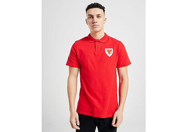 Official Team polo selección de Gales, Red