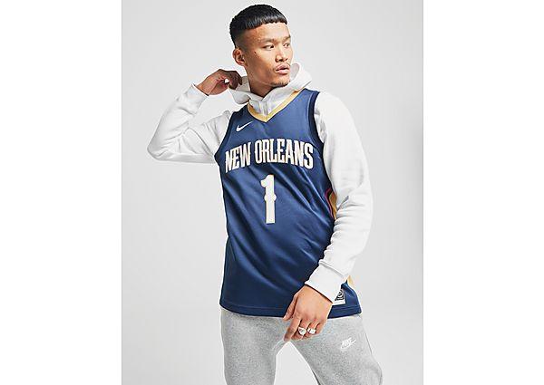 Nike camiseta NBA New Orleans Pelicans 1 Williamson SM, Blue