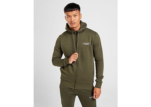 McKenzie chaqueta con capucha Essential, Green