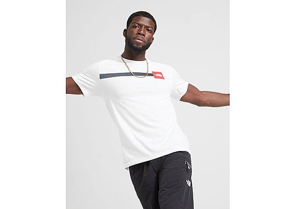 The North Face camiseta Fade Fine Box, White