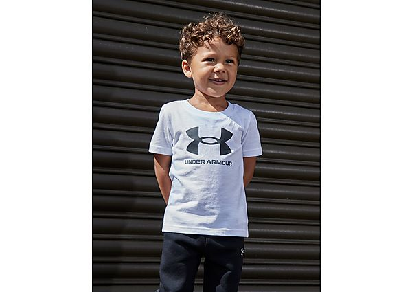 Under Armour Stack Logo T-Shirt Infant  - White - Kind