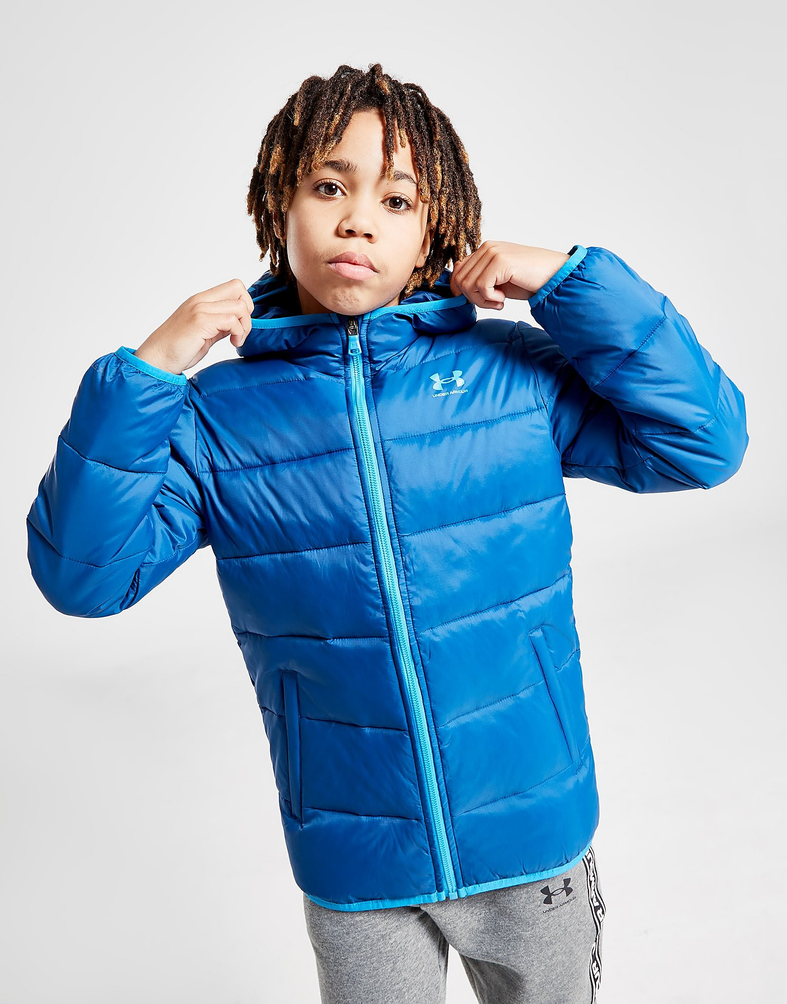 Under Armour Padded Jacket Junior - Only at JD, Blå