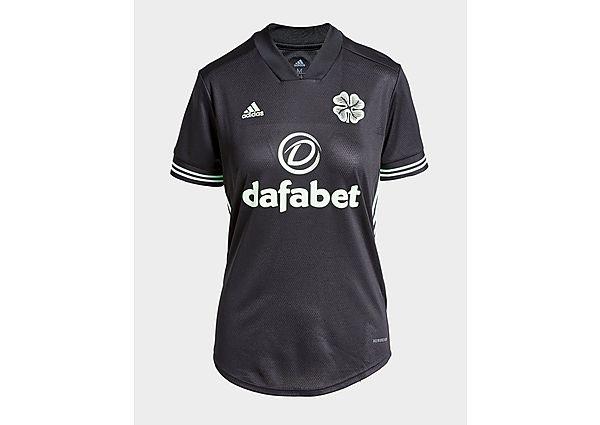 Ropa deportiva Mujer adidas camiseta Celtic FC 2020/21 3.ª equipación para mujer (RESERVA), Black/Green