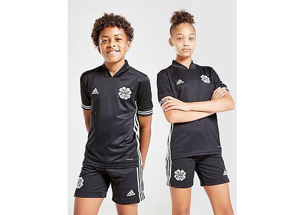 adidas camiseta Celtic FC 2020/21 3.ª equipación júnior, Black/Green