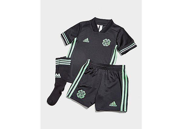 adidas conjunto Celtic FC 2020/21 3.ª equipación infantil, Black