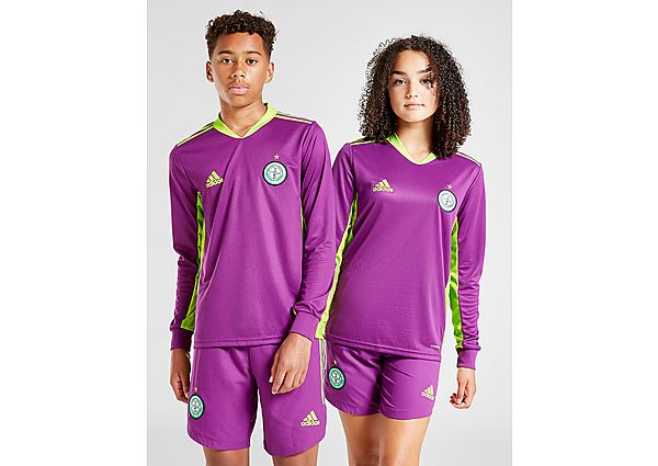 adidas camiseta Celtic FC 2020/21 1. ª equipación de portero júnior (RESERVA), Purple/Green