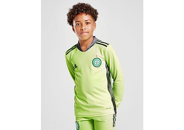 adidas camiseta Celtic FC 2020/21 2. ª equipación de portero júnior (RESERVA), Green/Grey