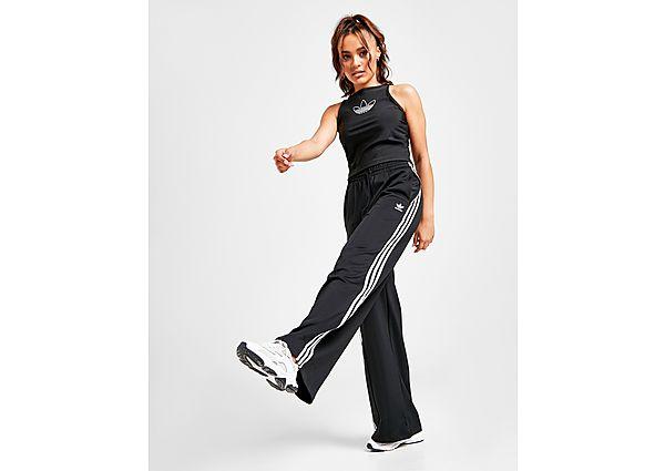Ropa deportiva Mujer adidas Originals pantalón de chándal 3-Stripes Relaxed, White