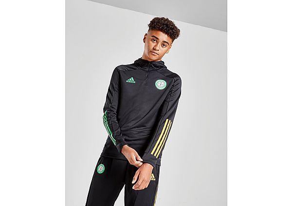 adidas Celtic FC Track Hoodie júnior (RESERVA), Black