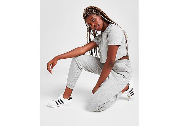 Ropa deportiva Mujer adidas Originals pantalón de chándal Essential Cuffed, Grey/White