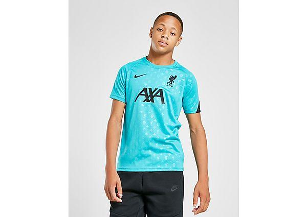 Comprar Ropa deportiva para niños online Nike Camiseta pre-partido Liverpool FC júnior, Blue