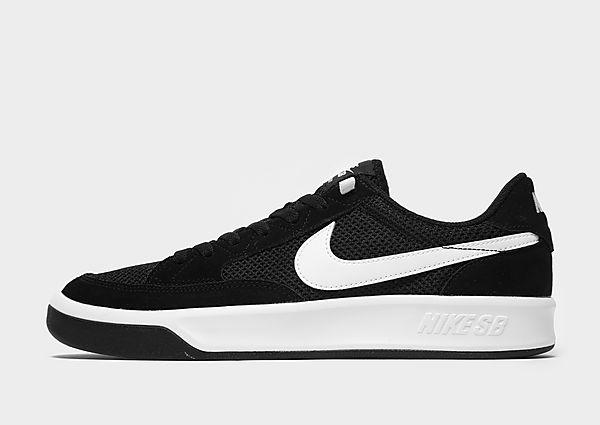 Nike SB Adversary Black White Heren, Black White