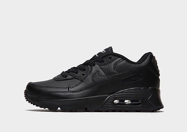 Comprar deportivas Nike Air Max 90 Leather infantil, Black