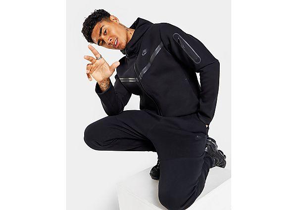 Nike chaqueta de chándal Tech Fleece, Black