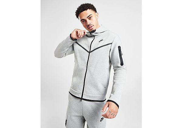 Nike chaqueta de chándal Tech Fleece, Grey