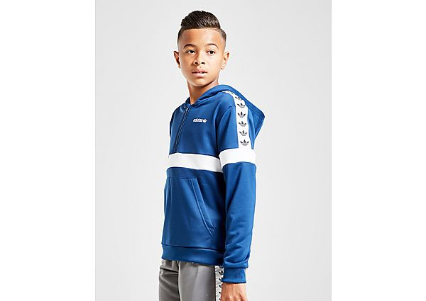 Adidas Originals Tape Poly 1/2 Zip Hoodie Junior - Kind
