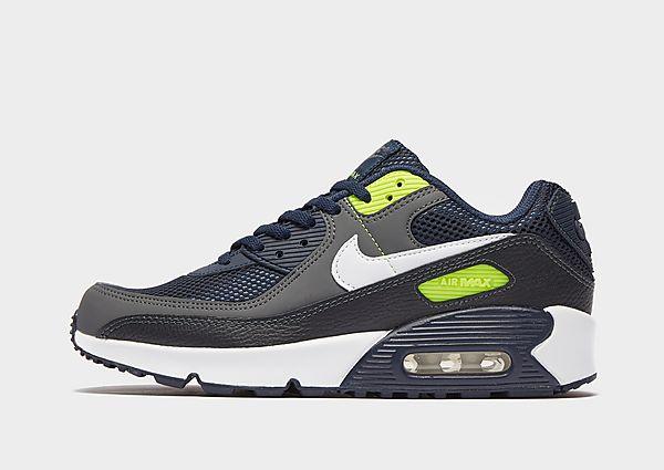 Comprar deportivas Nike Air Max 90 Leather júnior, Blue/Grey/Green