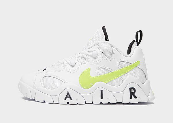Nike Air Barrage Low júnior, White/Green