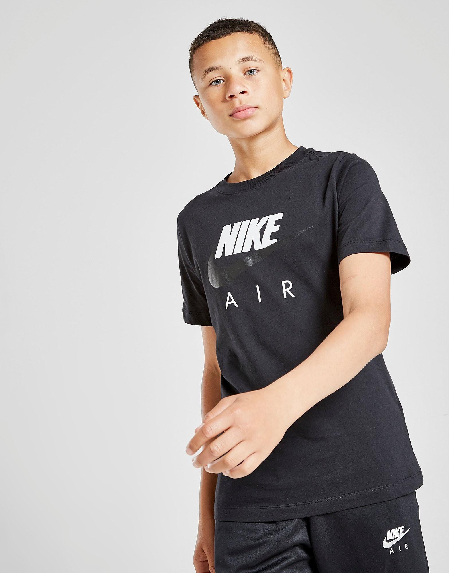 Nike Air T-Shirt Junior, Svart