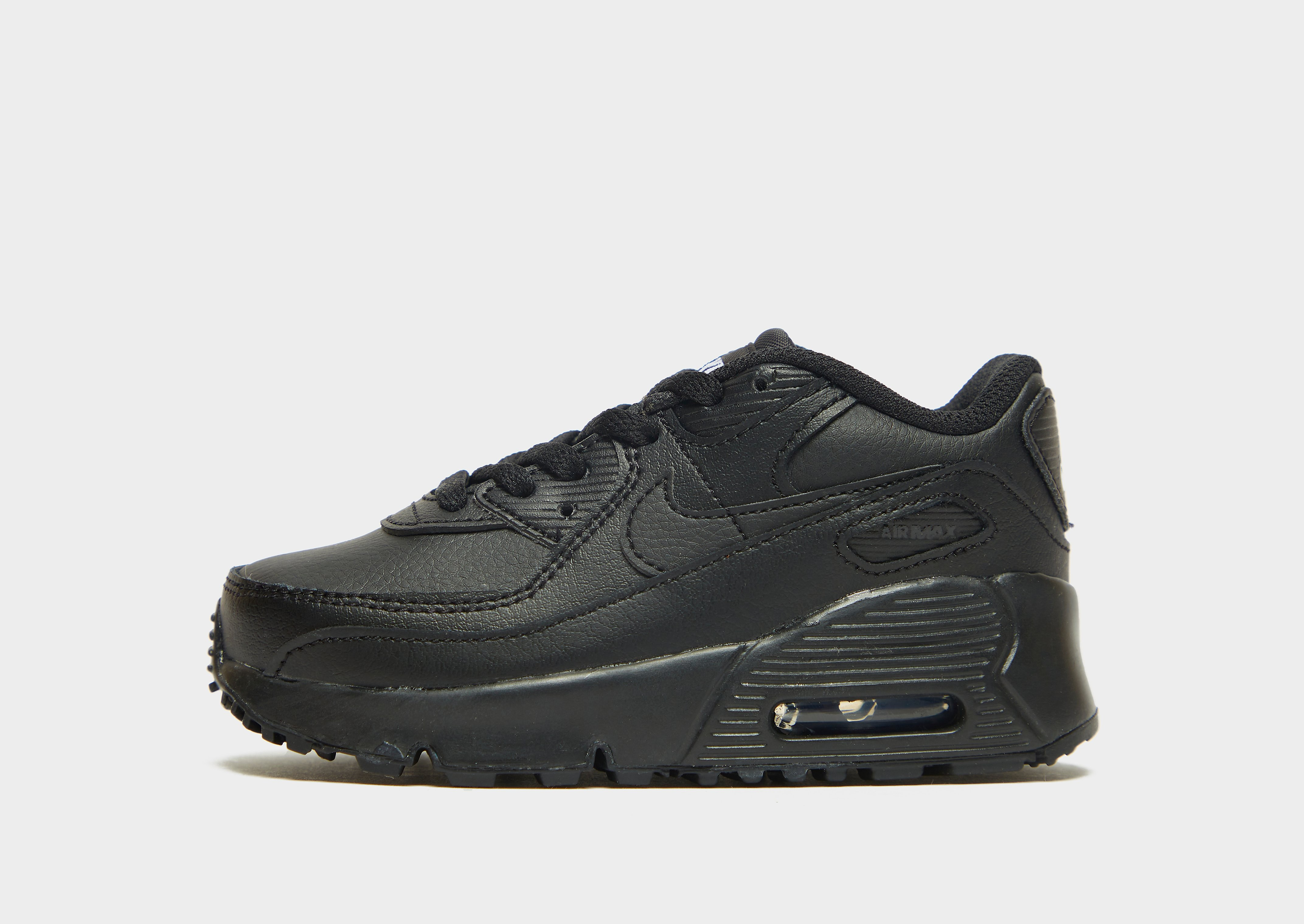 Nike Air Max 90 Leather Baby, Svart