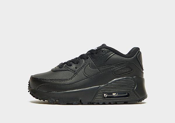 Comprar deportivas Nike Air Max 90 Leather para bebé, Black
