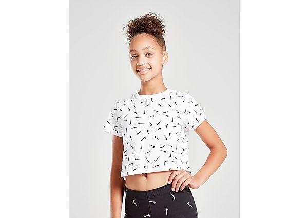 Nike Meisjes Swooshfetti Crop T-shirt Junior - Kind