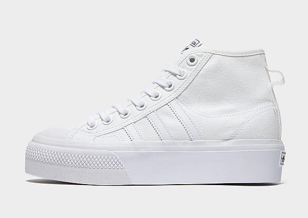Calzoncillos Deportivos adidas Originals Nizza Platform Mid, White
