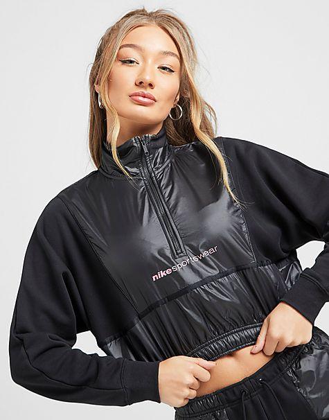 haut à 1/4 de zip  sportswear pour femme