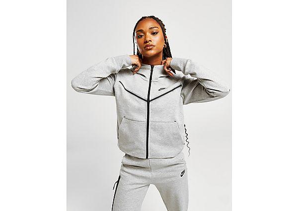 Nike Tech Fleece Hoodie - Grey - Dames, Grey