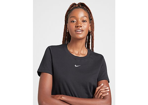 Ropa deportiva Mujer Nike camiseta Essential Logo, Black