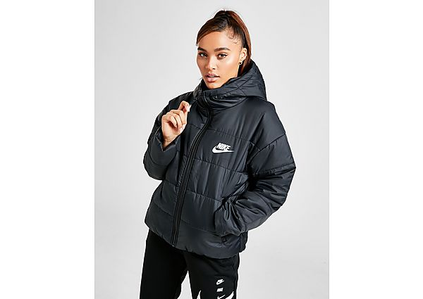 Nike Core Swoosh Jacket - Black/White/White