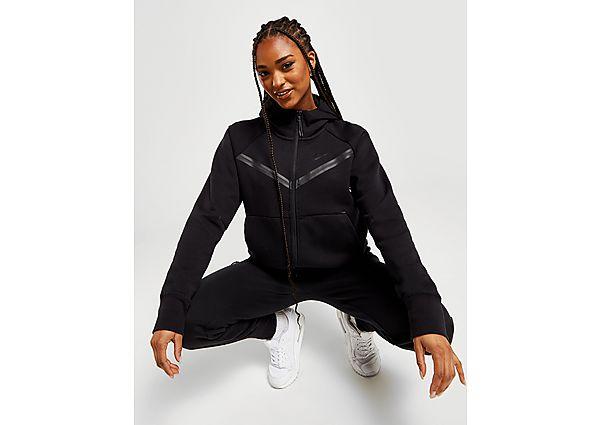 Nike Tech Fleece Hoodie - Black/Black, Black/Black